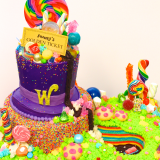 Willy Wonka Cake complete with a chocolate waterfall!