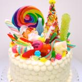 Rainbow Candy Cake!
