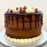 Chocolate ganache drip!