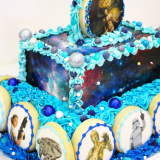 Side of the Star Wars Cake.