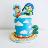 Toy Story Themed Woody & Buzz Cake!