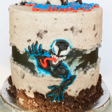 Venom Oreo cake.