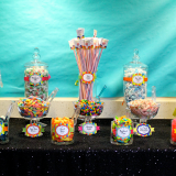 Rainbow Fun Prom Themed Candy Bar Donated to CHOC by B.CANDY