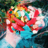 Mix & match your favorites from our bulk candy wall. Photo by @baby_bakk_ribs.