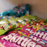 Taste the rainbow of Skittles!
