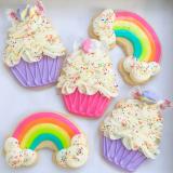 Cupcakes & rainbows!