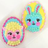 Little bunny Foo Foo sugar cookies for Easter.