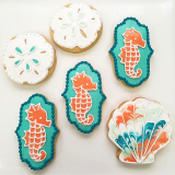 Under the sea cookie mix.