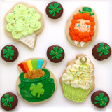 St. Patty's Day cookie assortment!