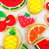 Feelin' fruity sugar cookie bites!