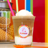 Build your own Soda Floats!  beer float with vanilla ice cream!