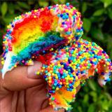 Micro mini cakes. Photo by @dailyfoodfeed.