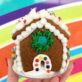 Mini gingerbread home!
