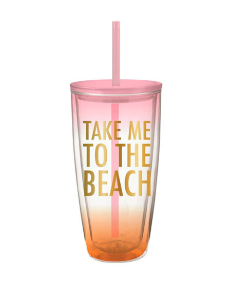 Take Me to The Beach Tumbler