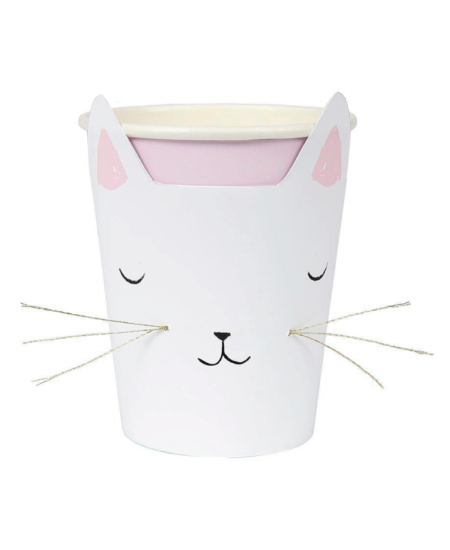 Kitty Cat Paper Cups 1