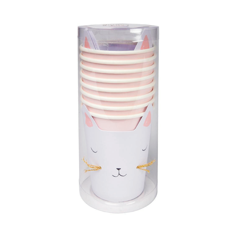Kitty Cat Paper Cups 2