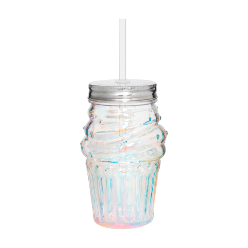 Cupcake Straw Sipper