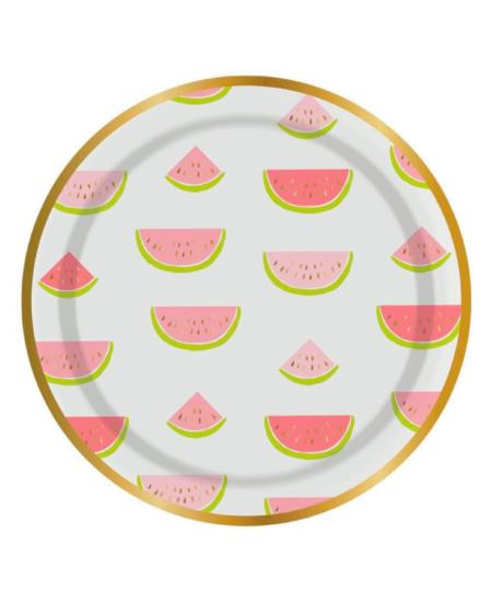 Watermelon Plate 1