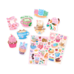 Ooly Cat Cafe Scented Stickers 3