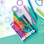 Bright Writers Colored Pens 3