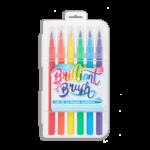 Brilliant Brush Markers Set Of Twelve 1