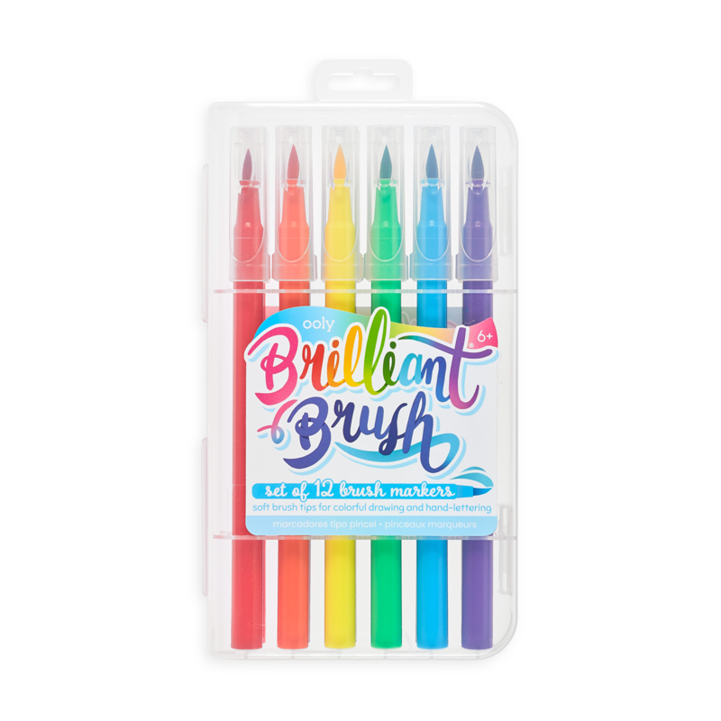 Brilliant Brush Markers Set Of Twelve 1