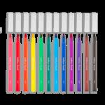 Brilliant Brush Markers Set Of Twelve 2