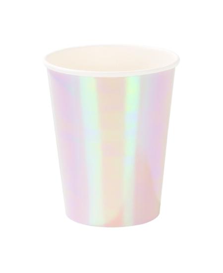 Iridescent Paper Cups 1