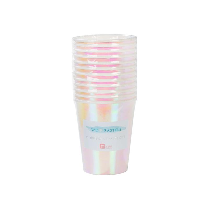 Iridescent Paper Cups 3