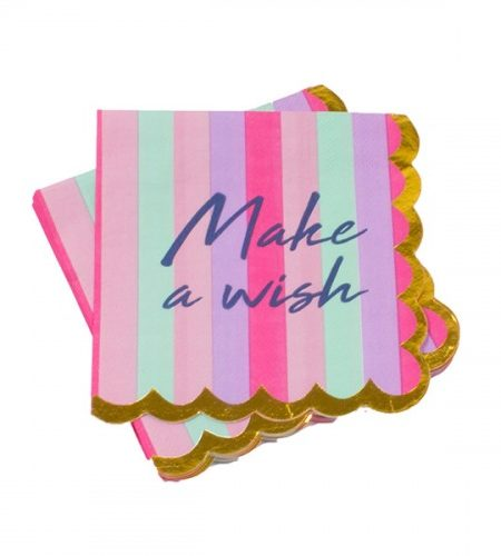 Make A Wish Napkins 1
