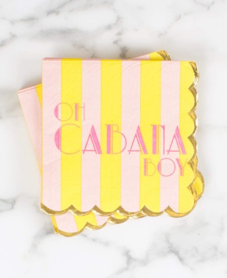 Oh Cabana Boy Beverage Napkins