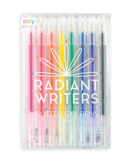 Radiant Writers Glitter Gel Pens 1