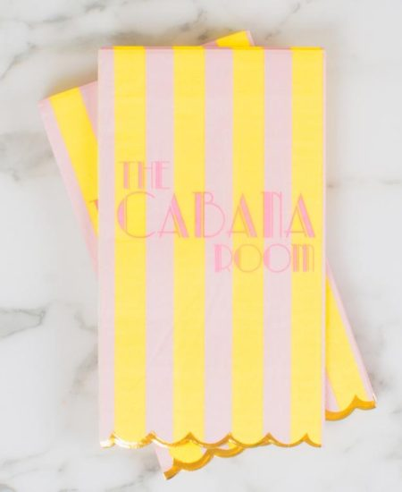 The Cabana Room Guest Towel Napkin 1