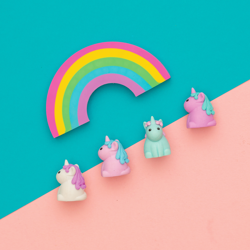 Unique Unicorns Scented Erasers 3