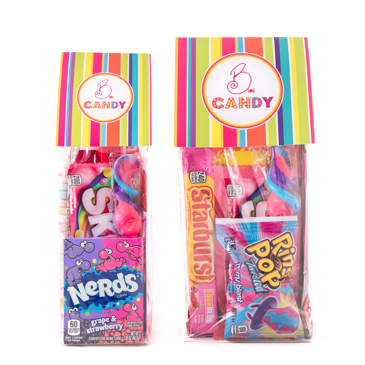 B.CANDY Deluxe Candy Bags Pink