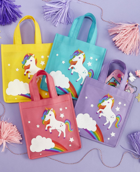 Unicorn Goodie Bags - 4 count