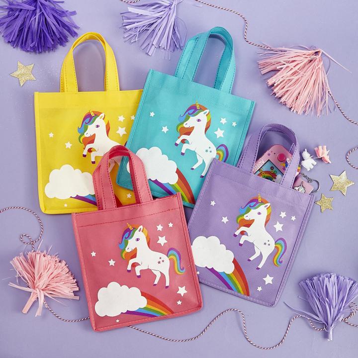 Unicorn Goodie Bags - 4 count